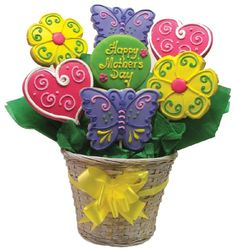 Happy Mother's Day Cookie Arrangement « Blast Gifts