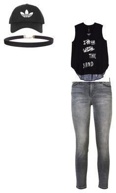 """black look"" by hyuna-newmoon ❤ liked on Polyvore featuring Current/Elliott, Melissa McCarthy Seven7, Topshop, Humble Chic and plus size clothing"