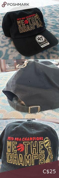 "Raptors ""We The Champs"" Adjustable Hat 2019 NBA Champions WE THE CHAMPS Adjustable back 47 Accessories Hats La Dodgers Hat, Yankees Hat, Blue Skinny Pants, Curvy Skinny Jeans, Nfl New York Giants, New York Knicks, Dodger Hats, Red Sox Hat, Strapback Hats"