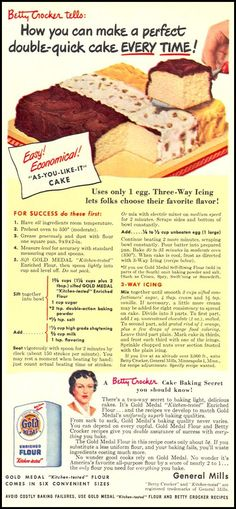 GOLD MEDAL KITCHEN-TESTED FLOUR-WOMAN'S DAY 10/01/1949
