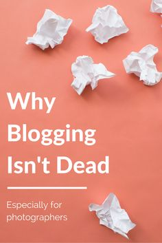 Blogging isn't dead. We talk about the why blogging is important and make sure it has an impact.