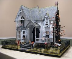 It's a dollhouse. But I want to live in it. otterine.com blog