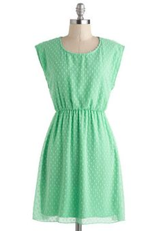 Destined for Achieve-Mint Dress, #ModCloth