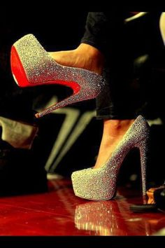 the higher the heel the closer to heaven ;)