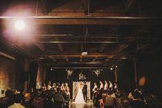 Melrose Market Studio wedding ceremony