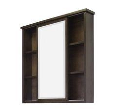 Genial American Imaginations AI 103 35 Transitional Birch Wood Veneer Medicine  Cabinetu2026