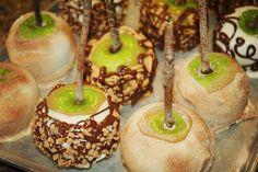 Sweet Coconut Lime: Caramel Apple Tutorial