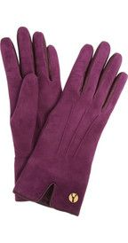 Yves Saint LaurentChyc cashmere-lined suede gloves