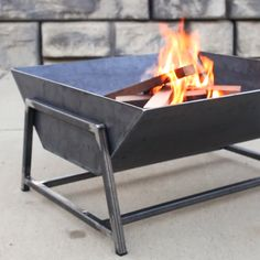 DIY Fire Modern Pit Steel Why spend hundreds on a steel fire pit when you c .DIY Fire Modern Pit Steel Why spend hundreds on a steel fire pit when you can make one yourself?