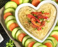 Recipe: Roasted Red Pepper Hummus