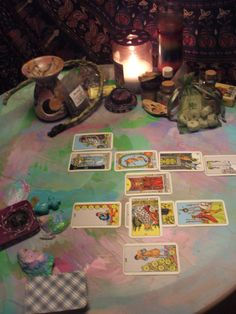 Divination:  Tools for divination.