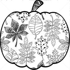 Fall Coloring Sheets for Adults - Fall Coloring Sheets for Adults , Pin by Mandy Stanton Buell On Cut It Fall Coloring Sheets, Colouring Sheets For Adults, Fall Coloring Pages, Adult Coloring Pages, Coloring Books, Autumn Crafts, Autumn Art, Ecole Art, Autumn Activities
