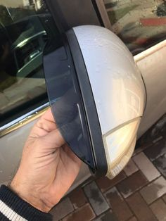Ford C-max Wing Mirror Rain Visor Smoked Eyebrows deflector Riding Helmets, Eyebrows, Ford, Rain, Smoke, Mirror, Ebay, Fiesta Party, Rain Fall