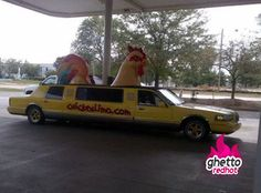 Chicken limo anyone