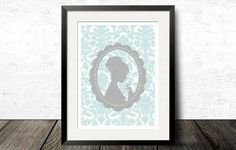Emma lithography designed by Sarah Shrapnel, available at Litographs, $20