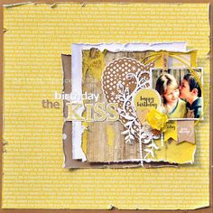 The Birthday Kiss Layout - Layout Gallery
