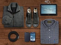 Casual, office sau sport… nici nu mai contează! Băieți, voi cu ce device-uri v-ați asorta ținuta? #SamsungTab