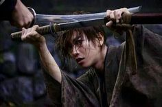 Don't cut my finger, man ! Rurouni Kenshin, Kenshin Anime, Kenshin Le Vagabond, Film D'action, Film Movie, Meiji Restoration, X Movies, The Last Samurai, Film Trilogies