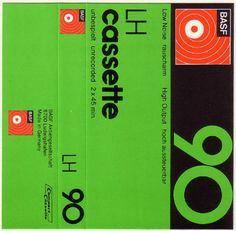 BASF cassette tape 90'...used to be such an art..recording all your favs from the radio.