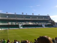 Fondo del Estadio Benito Villamarin