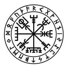 This is our Runic Vegvisir decal. The Vegvisir is sometime called the Icelandic Rune Compas. Bjork has one tattooed on her upper arm. The Futhark Runic Vegvisir Sticker is available in 14 different colours and hand finished. Norse Mythology Tattoo, Norse Tattoo, Wiccan Tattoos, Symbolic Tattoos, Simbols Tattoo, Inca Tattoo, Body Art Tattoos, Yggdrasil Tattoo, Rune Symbols