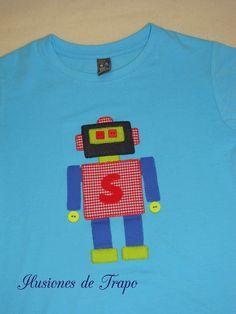 camiseta robot