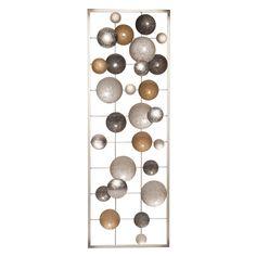 Best Wanddeko aus gold und silberfarbenem Metall xcm BABEL Jetzt bestellen unter https