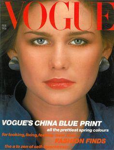 Juli Foster, photoby Albert Watson, Vogue UK, February 1980*