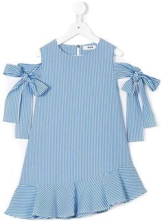 Shop Msgm Kids striped dress – Carolina Esteves – Join the world of pin Dresses Kids Girl, Girl Outfits, Flower Girl Dresses, Baby Girl Fashion, Fashion Kids, Msgm Kids, Dress Anak, Kids Frocks, Girl Dress Patterns