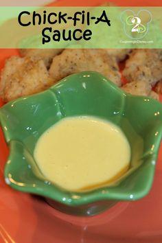 Kristin's Kitchen:  Chick-fil-A Sauce -  1/2 cup mayo, 2tbsp mustard, 1/2tsp garlic powder, 1tbsp vinegar, 2tbsp honey, salt & pepper, add 1tbsp bbq sauce.