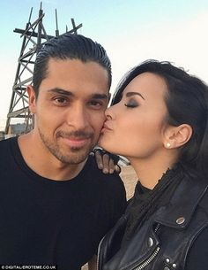 Demi Lovato and Wilmer Valderrama spend From Dusk Till Dawn together #dailymail