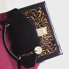 Coco  www.nonou.pl #nonou #bags #coco #torebka #leopardprint #animalprint #leatherbag #luxurybag #fashionlover #polishbrand #handmade #itbag #warszawa #warsaw