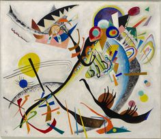 Blue Segment (Blaues Segment), 1921  Wassily Kandinsky (Russian, 1866-1944)