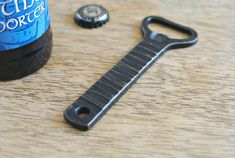 Kitchen Bottle Opener Forged Bottle Opener by PhoenixHandcraft