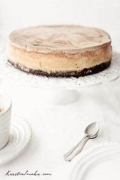 Tiramisu cheesecake -  Use Google translate to translate from Polish.