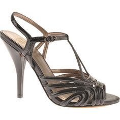 933b985df13 SALE - Womens Joan   David Mimo Stiletto Heels Black Leather - Was  240.00  - SAVE