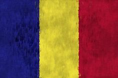Romania Flag Art - Flag of Romania by World Art Prints And Designs