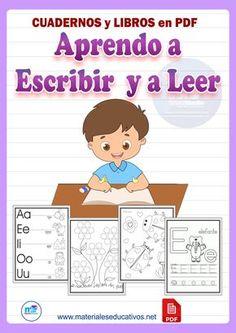 MÉTODO APRENDO A ESCRIBIR Y A LEER. Libros y Cuadernos descargables en PDF. Preschool Learning Activities, Preschool Printables, Alphabet Activities, Learning Spanish For Kids, Math For Kids, Kids Learning, Bilingual Education, Alphabet For Kids, Kids Playing