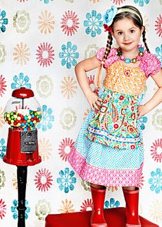 the Bubblegum Apron Dress. Made in the US with love :) gonna have to get this for little missy!!
