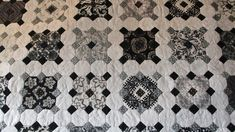 Keyboard Patchwork by Lucy Boston.  Octagons and squares possibly done with EPP.