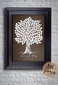 Wedding guest book Tree  Tree Wedding by AllAboutArtistry on Etsy