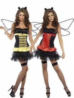 Fever 2-in-1 Bijen / Lieveheersbeestje Kostuum