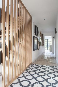 Stairs - A One Bed Bungalow Renovation To A Modern Family Three Bed . - House Plans, Home Plan Designs, Floor Plans and Blueprints Modern Staircase, Staircase Design, Open Trap, Open Stairs, Floating Stairs, Bungalow Renovation, Stair Renovation, Stair Handrail, Basement Renovations