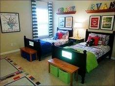 Small Boys Bedroom Ideas 4 http://tanaflora.com/small-boys-bedroom-ideas-4?utm_source=PN&utm_medium=Resep+Bunda&utm_campaign=SNAP%2Bfrom%2BTanaflora.com