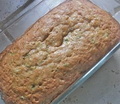 Moist Zucchini Bread Recipe 1½ cups all-purpose flour ½ tsp salt ½ tsp of baking soda ½ tsp baking powder 1 tsp cinnamon ½ tsp ginger ½ cup white sugar ½ cup vegetable oil ½ cup packed brown sugar 1½ eggs 1 tsp vanilla extract 1-1½ cups grated zucchini