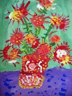 Kindergarten Sunflowers