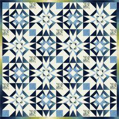 Zara-Lover's Knot- Quilt by Janna Thomas, Bloc Loc