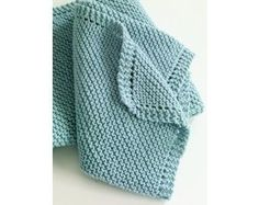 Diagonal Comfort Blanket Pattern (Knit)