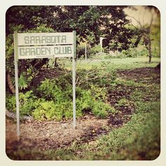 Sarasota Garden Club - directly across the street from the hotel