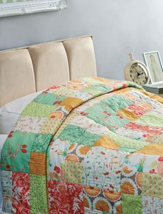 Make a simple quilt